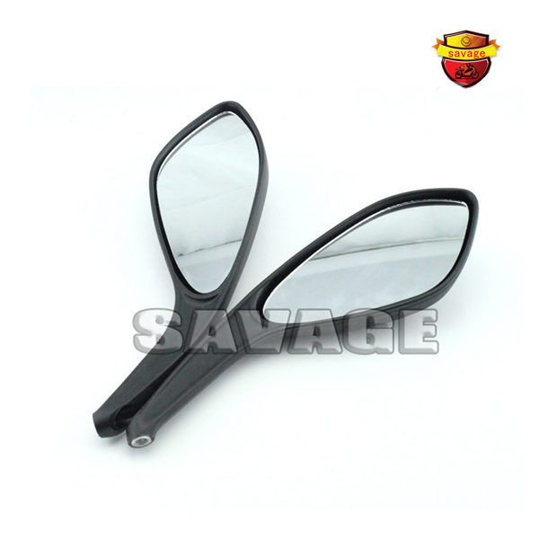 Motorcycle Rear Side View Mirrors a Pair Brand New High Quality For DUCATI MONSTER 695 696 796 Black
