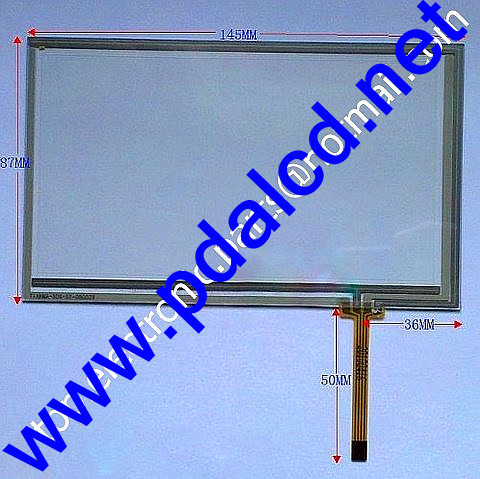 6.2 inch 6 inch digitizer touch screen for CAR DVD GPS navigation 145mm*87mm 145*87mm free shipping as showed in the photo