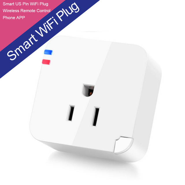 GSM Wireless Wifi Smart Plug USA IOS Android Phone APP Timer Switch Socket for Appliances Remote Control Wifi Enhanced Function