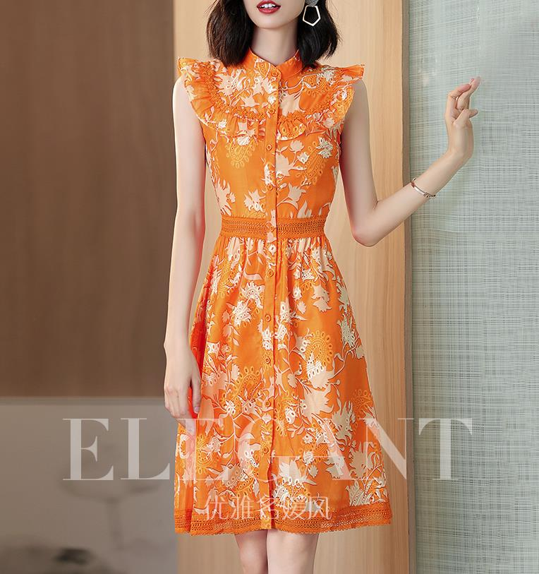 2019 is a popular year for waist hugging printed dresses Dresses  - AliExpress