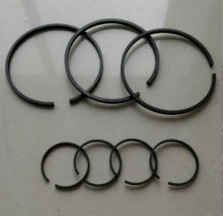 1set 42mm/47mm/51mm/65mm/80mm/90mm/100mm Dia Piston Rings Set for Air Compressor