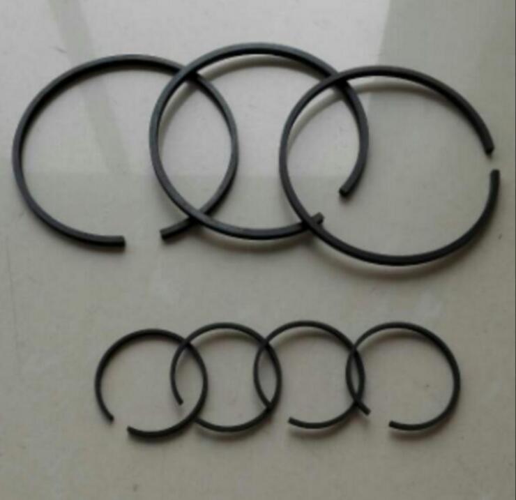 1 conjunto de 42mm/47mm/48mm/51mm/65mm/80mm/conjunto de anéis de pistão do dia, 90mm/105mm para compressor de ar