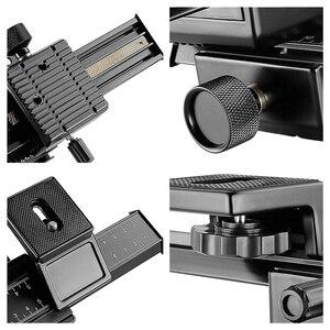 """Image 5 - 4 Macro Tập Trung Đường Sắt Cầu Trượt Cho Canon Sony Pentax Nikon Olympus Samsung Và Các Máy Ảnh Kỹ Thuật Số Với 1/4"""" lỗ Vít"""