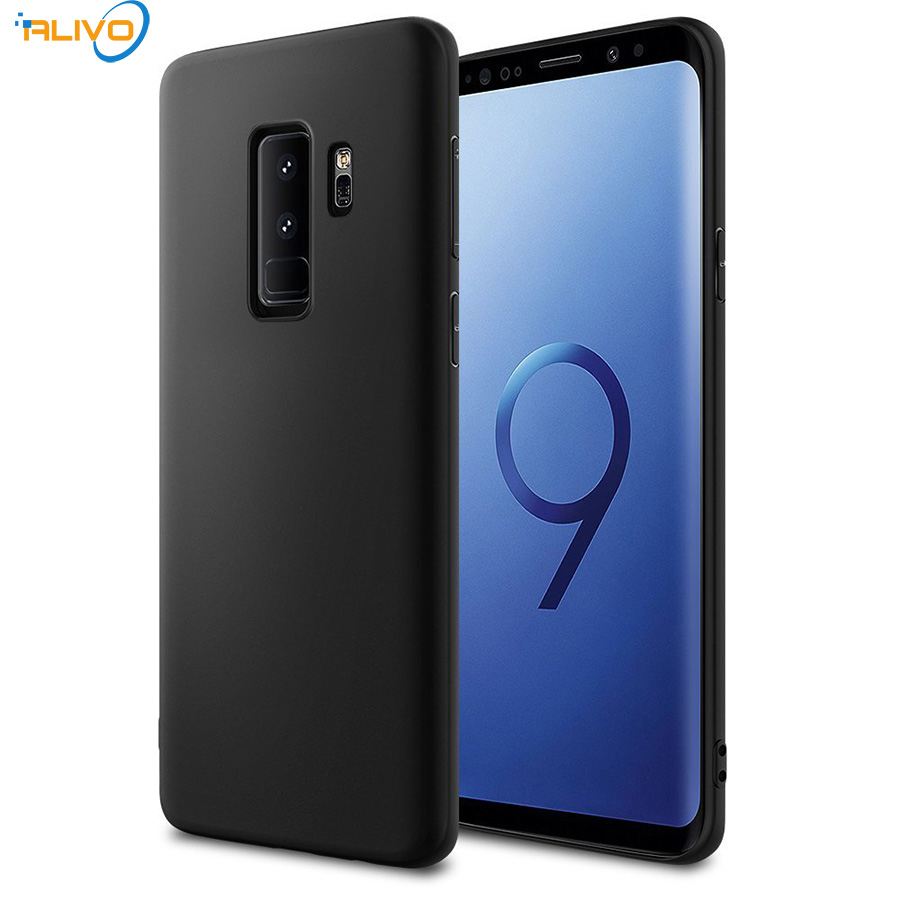 Slim Frosted Case for Samsung S9 Plus Cover Slim Back Protect Skin Protective Phone Cover for Samsung Galaxy S9 plus Conque