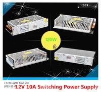 120W 12V 10A Switching Power Supply 100 240V AC To DC12V For Led Strip 5050 3528