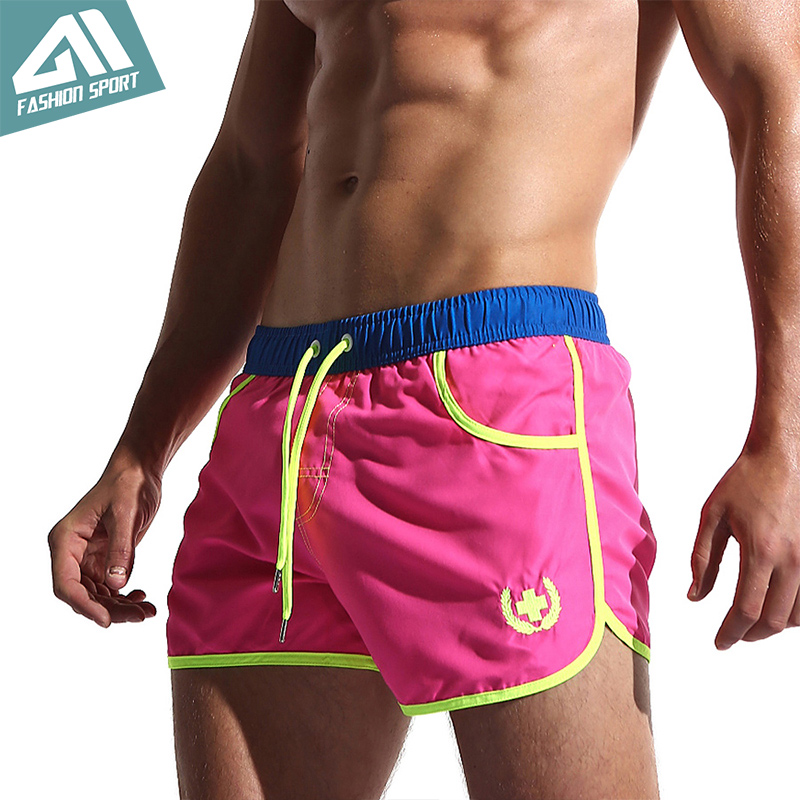 New Quick Dry Men's Swim   Shorts   Surfing Beach   Short   Maillot De Bain Sport Bermuda Swimwear Men's   Board     Shorts   Male   Short   AC432