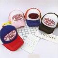 5 painel boné de beisebol carta com malha marca snapback hat cap malha tampão do camionista crianças bonés de beisebol das meninas dos meninos verão