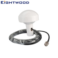 Eightwood Car New Marine GPS Antenna BNC Plug Connector Cable 5m for Audi BNW