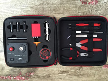 Newest All-in-One Kit for DIY Electronic Cigaret Coil Master DIY Tool Kit V3 from Vapordance FYF113