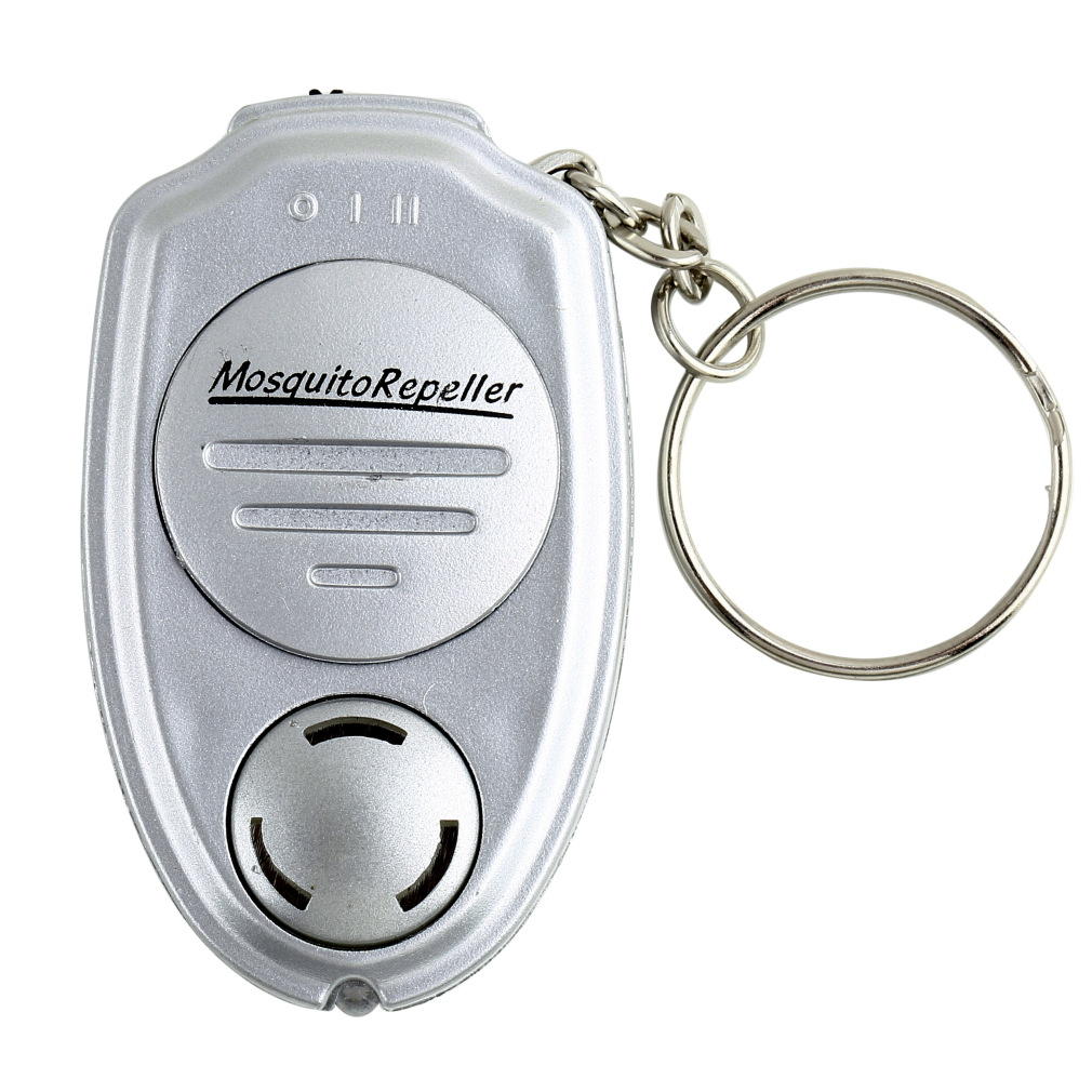 Dropshipping OUTAD Portable Anti Mosquito Killer Inset Repeller Electronic Ultrasonic Keychain Key Clip For Camping Outdoor