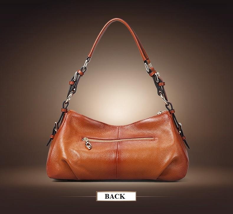 Ladies Handbags 2016 New Womens Bags And Purses Solid Women Leather Shell Bag Bags Zipper Retro Designer Handbags High Quality_038