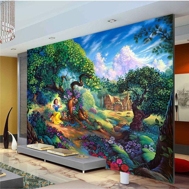 Snow White Wall Mural