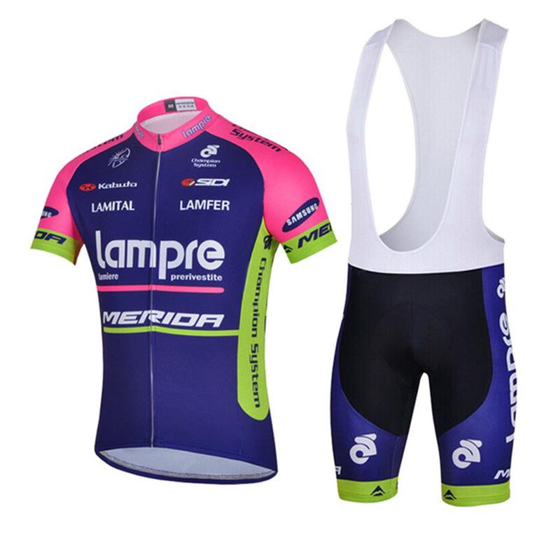Prix pour 2016 Équipe Lamre Vélo Jersey merida 9D Gel Pad Vtt Vélo porter Des Vêtements Courts Roupa Ropa De Ciclismo Hombre Verano vélo ensemble
