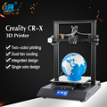 CR-X 3D impresora color doble boquilla DIY KIT de pantalla táctil de gran tamaño de impresión de ventilador Dual bien Creality 3D CR-X n 2 KG de regalo
