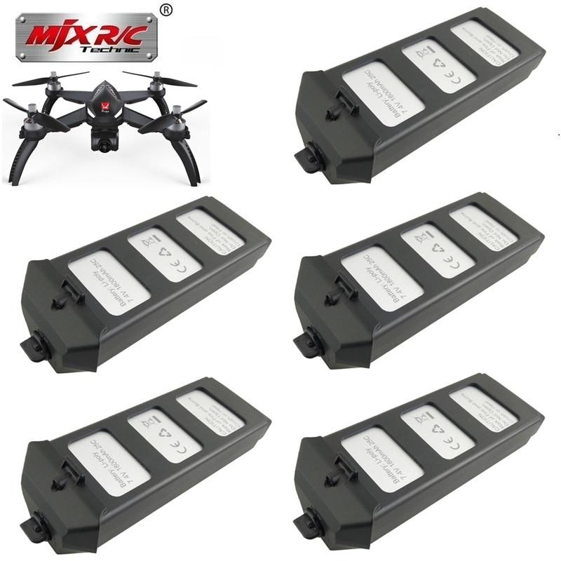 Original MJX R/C Bugs 5W B5W RC battery 7.4V 1800mAH 25c LiPo Battery RC Quadcopter drone spare parts accessories 1pcs to 10pcs