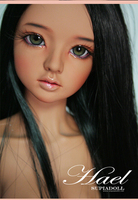 Free shipping! face makeup&eyes included !Supiadoll HAEL tan top quality 1/3 bjd sexy female doll sd soom dod doll manikin