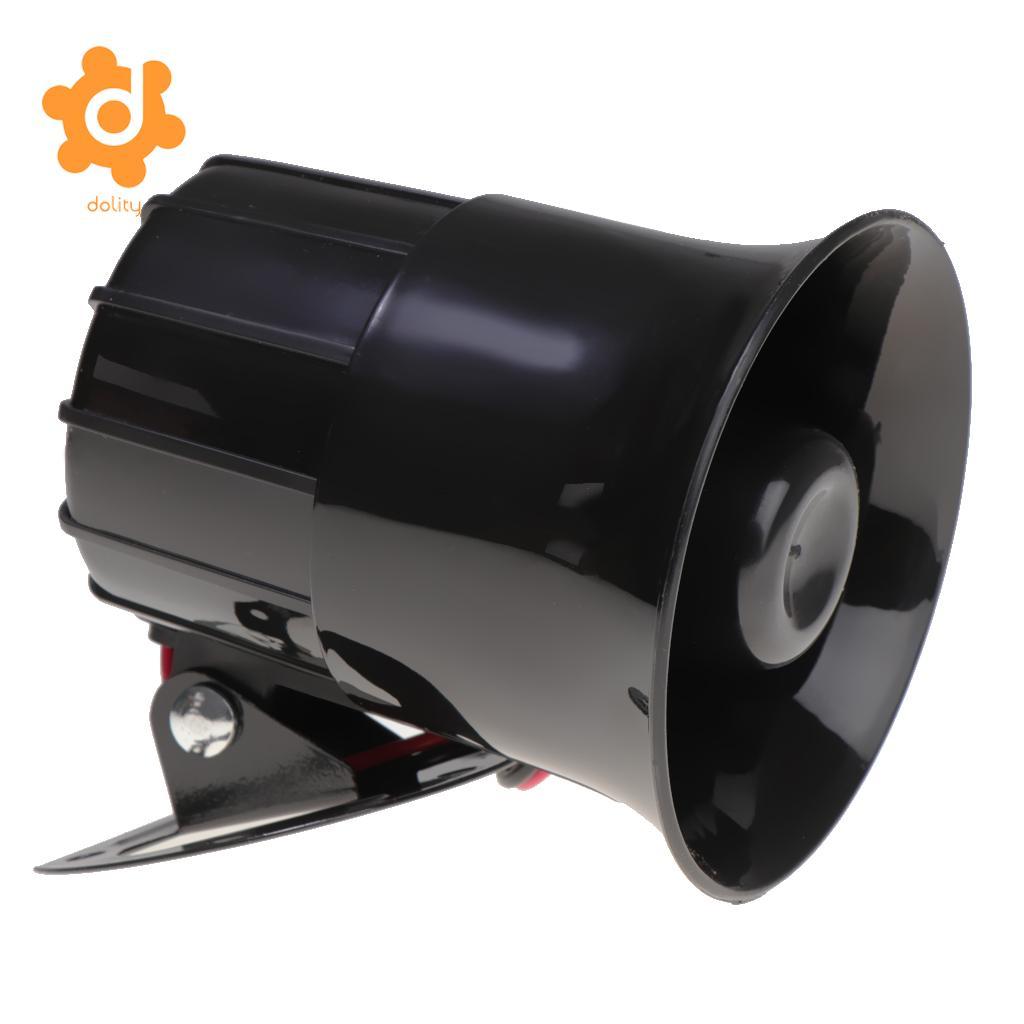 12V 20W Super Loud Sound Car Motorcycle Boats Six Tone Siren Alarm Horn