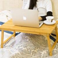 6 צבעים אופנה במעונות שולחן קטן עצלן מיטת שולחן מחשב נייד מתקפל שולחן מחשב שולחן אוכל שולחן עץ פשוט 60*40*30 cm