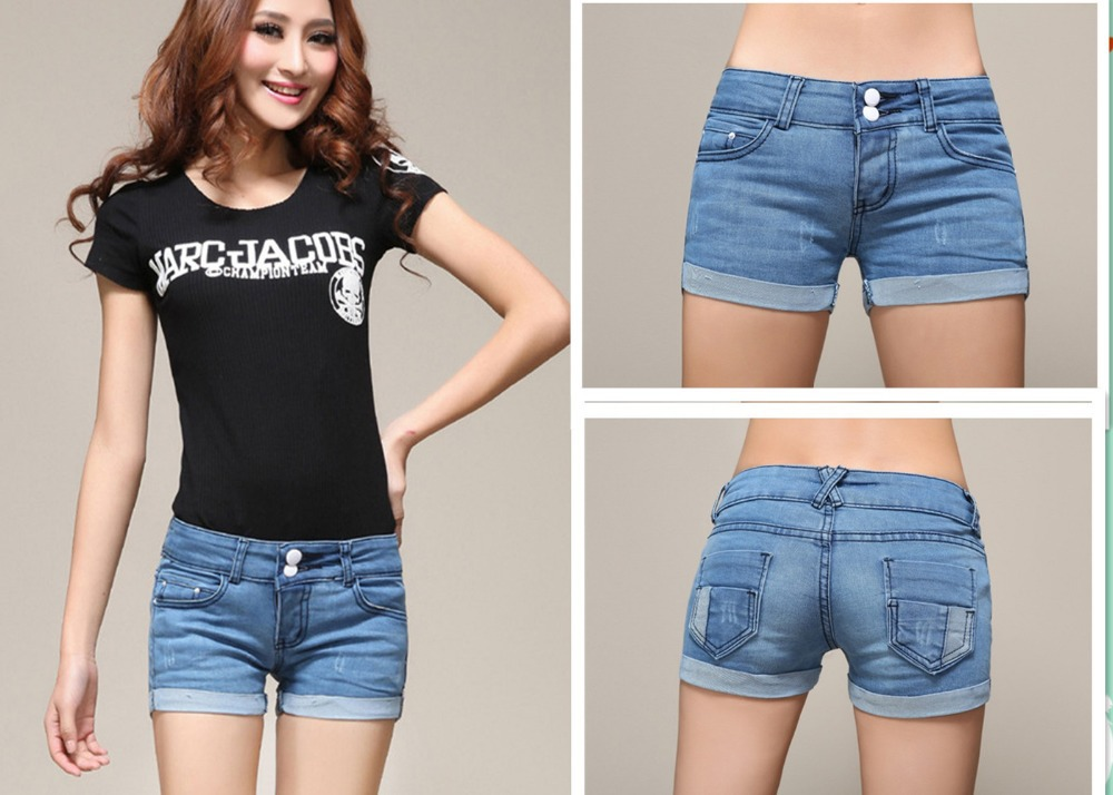 Top Quality Simple Shorts Jeans Women 2014 Brand Denim Shorts ...