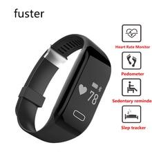 Новое поступление группа здоровья H3 смарт-браслет с сердечного ритма Monitores интеллектуальные запястье Браслет Сна Трекер Браслет для iPhone 7