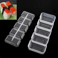 5 Rolls Sushi Maker Sushi Mold Japan Nigiri Sushi Mold Rice Ball Non Stick Press Storage Box Rice Form Bento Tools