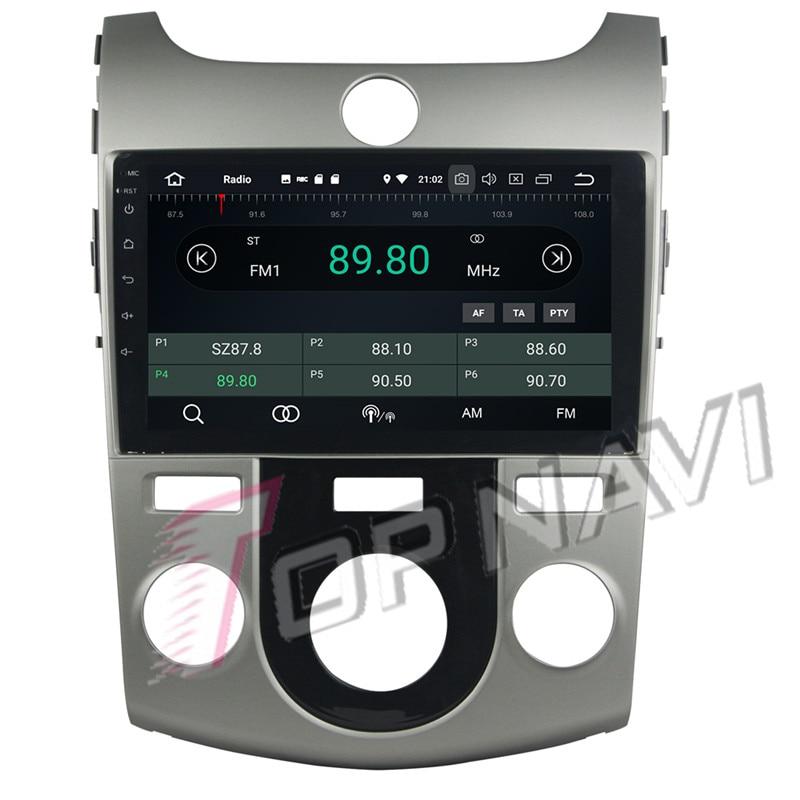 car android 7.1 For KIA Cerato 2012 Manual