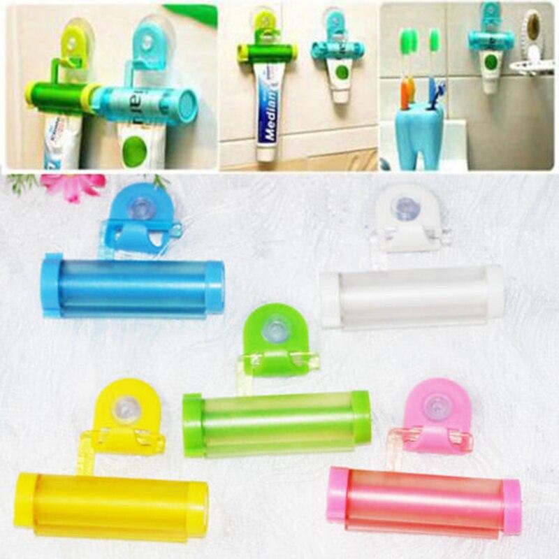 Nieuwe Creatieve Rolling Squeezer Tandpasta Dispenser Buis Sucker - Huishouden
