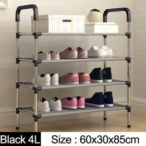 Image 2 - New arrival Multiple layers Shoe Rack with handrail Easy Assembled Shelf Storage Organizer Stand Holder Keep Room Neat