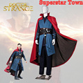 Doutor Estranho Marvel Filme Traje Cosplay Steve Stephen Vincent Traje de Super-heróis Cosplay Outfit Adulto Conjunto Completo Custom Made