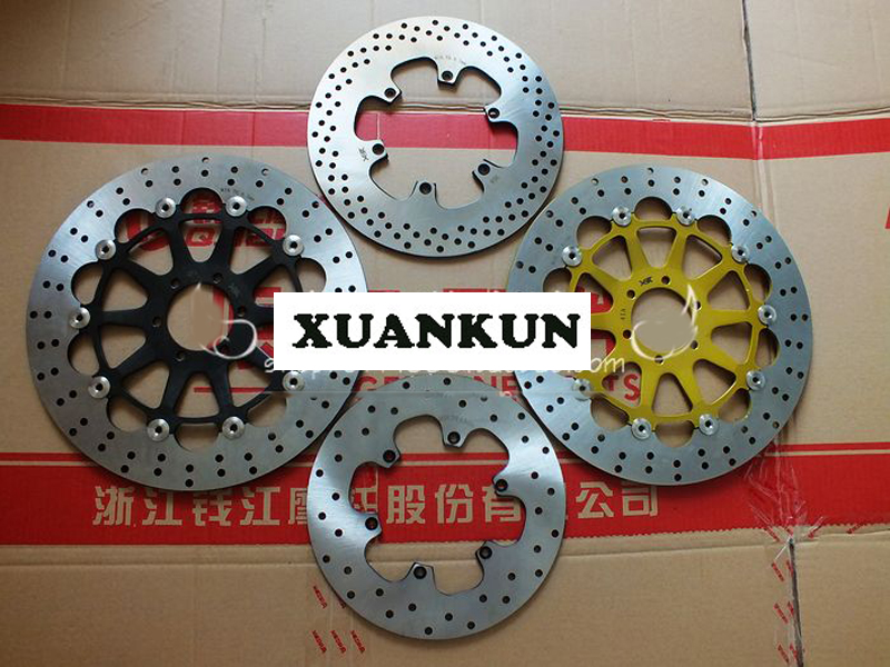 XUANKUN BJ600GS/-A/BN600 Front and Rear Brake Disc / Disc Brake Disc / Liquid Brake Disc 180 16 9 fast fold front and rear projection screen back
