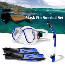 купить Snorkel Gear Diving Set Diving Set with Silicone Mask Swimming Fins Snorkel Quick Dry Gear Bag Diving Kit Water Sports Equipment по цене 2005.39 рублей