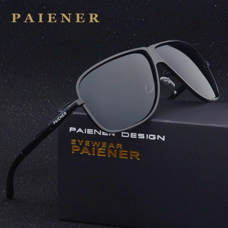 Nueva Marca hombres mujeres polarizadas Sol Gafas conducción Sol Gafas moda  Polaroid lente Sol vidrio gafas de sol masculino 9492493ef72a