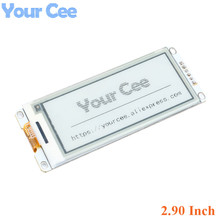 2.90 Inch E Paper Module E Ink Display Screen Module Black White Color SPI Support Global/Part refresh Diy For Arduino 2.9 Inch