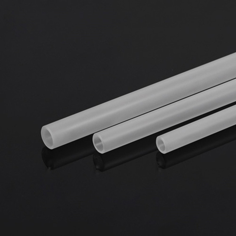 Frosted Acrylic Tube OD12mm 14mm 16mm Matte Rigid Pipe PMMA Length 50CM Thickness 2MM 2pcs