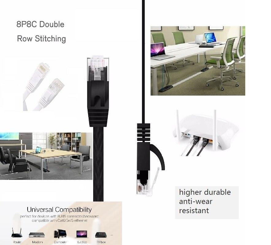#3601 Ethernet Kabel Cat6 Lan Kabel UTP CAT 6 RJ45 Netzwerk Kabel 15cm25cm/0,5 mPatch Kabel für Laptop router RJ45 Netzwerk Kabel