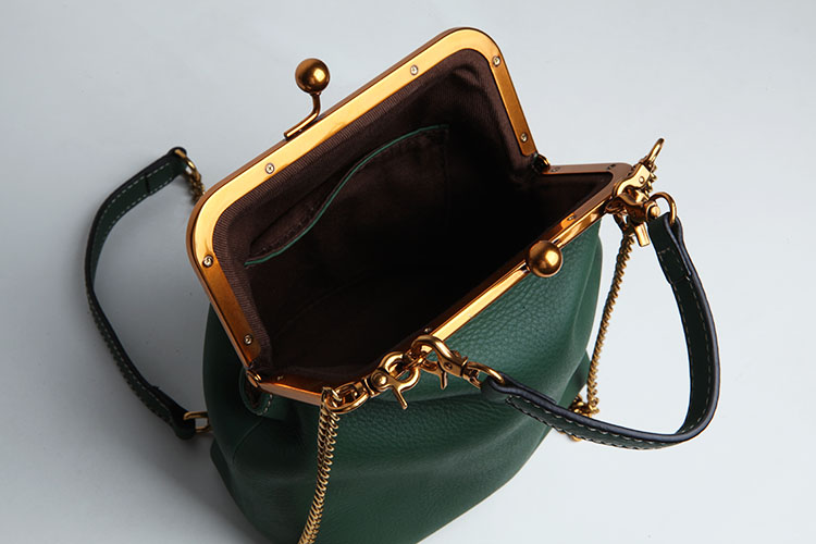 2019 new vintage bag women's handbags leather PU chain shoulder crossbody bags (4)