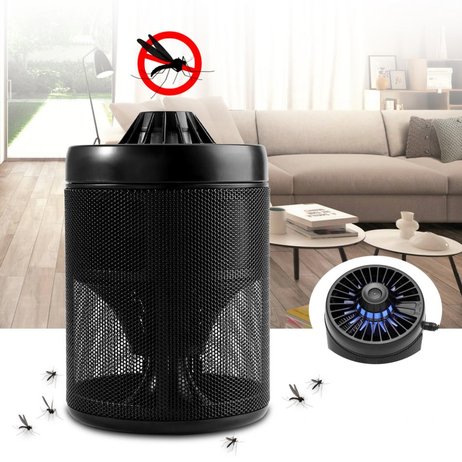 Electric Insect Mosquito Killer Lamp Light USB Powered Non-toxic LED Insect  Trap 5W Indoor Lamp