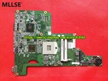 Ajuste para HP G62 Notebook PC placa base placa madre del ordenador portátil 615382-001 615382-001 HM55 DDR3 100% PROBADO