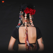 Gypsy Dance Conch Headpiece ATS Tribal Belly Accessories Women Headpieces Headbands