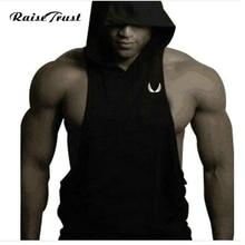 Mens Man Hoodie Singlets Sweatshirts Tank Tops Stringer Bodybuilding Fitness Men's Tees Shirts Vest