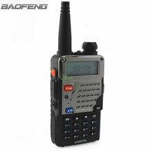BaoFeng UV-5RE PLUS de Metal negro Walkie Talkie Negro Jamón Amateur radio de Dos Vías de Radio de Doble Banda 136-174 y 400-520 MHz Radios VHF UHF