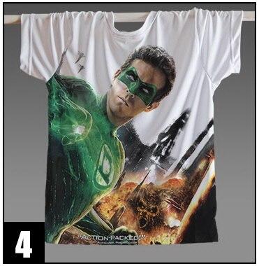 [XHTWCY]Movie Ant man The Flash Green Lantern t shirt Man Cosplay Short Sleeve Unisex Superhero Movie T shirt Tops Tee Shirts