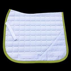 Высококачественная стеганая хлопковая Подушка-седло для скакового седла, амортизационная накладка с кристаллами