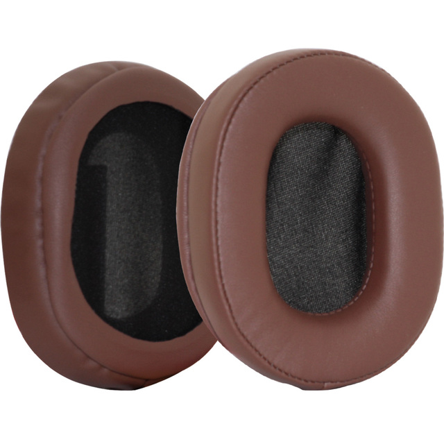 Poyatu Brown Replacement Earpads For Sony MDR-1R MDR-1A MDR-MK2 MDR 1A MDR 1R Headphones Ear Cushions Earbuds Ear pads
