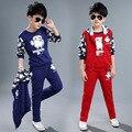 Детская Одежда Устанавливает Винт Шеи Длинным Рукавом С Буквами Active Baby Boy Одежда