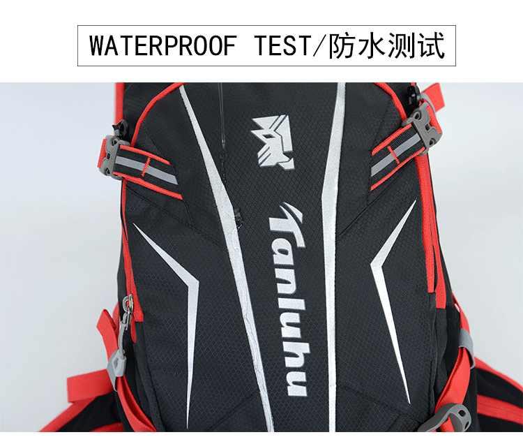 Tanluhu Fietsen Rugzak Waterdichte Fietstas Ademend 25L Ultralight Waterzak Sport Knapzak Klimmen Hydration Packs