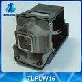 Barato Compatível lâmpada lâmpada do projetor TLPLW15 para TDP-EW25 TDP-EW25U TDP-EX20 TDP-EX20U TDP-EX21 TDP-SB20 TDP-ST20