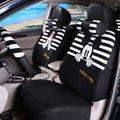 Desenhos animados Tampas de Assento Do Carro Universal Fit BMW 1 3 5 7 classe F30 X1 X3 X5 x6 X7 Q5 Q3 Carro Styling carro cobre tampa de assento acessórios