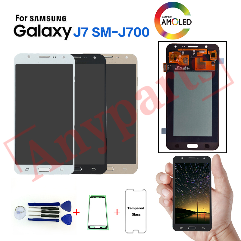 AMOLED For Samsung J7 2015 J700 SM-J700F LCD Display screen replacement for samsung J700H J700M J700T J700P display LCD moduleAMOLED For Samsung J7 2015 J700 SM-J700F LCD Display screen replacement for samsung J700H J700M J700T J700P display LCD module