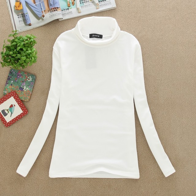 New 2017 High Quality Fashion Spring Autumn Winter Sweater Women Wool Turtleneck Pullovers Long Sleeve Plus Size Women Clothing